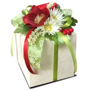 Коробочка с конфетами «Цветочная радость»