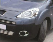 Окантовка передних противотуманных фар, Omsa, хром, а/м 2008-2012