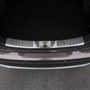 Накладка в проем двери багажника, вариант II, матовая нерж. сталь