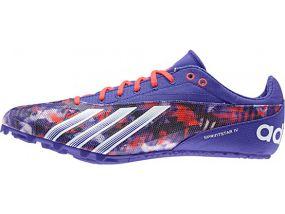 Спринтерские шиповки adidas Sprint Star 4 Men's фиолетовые