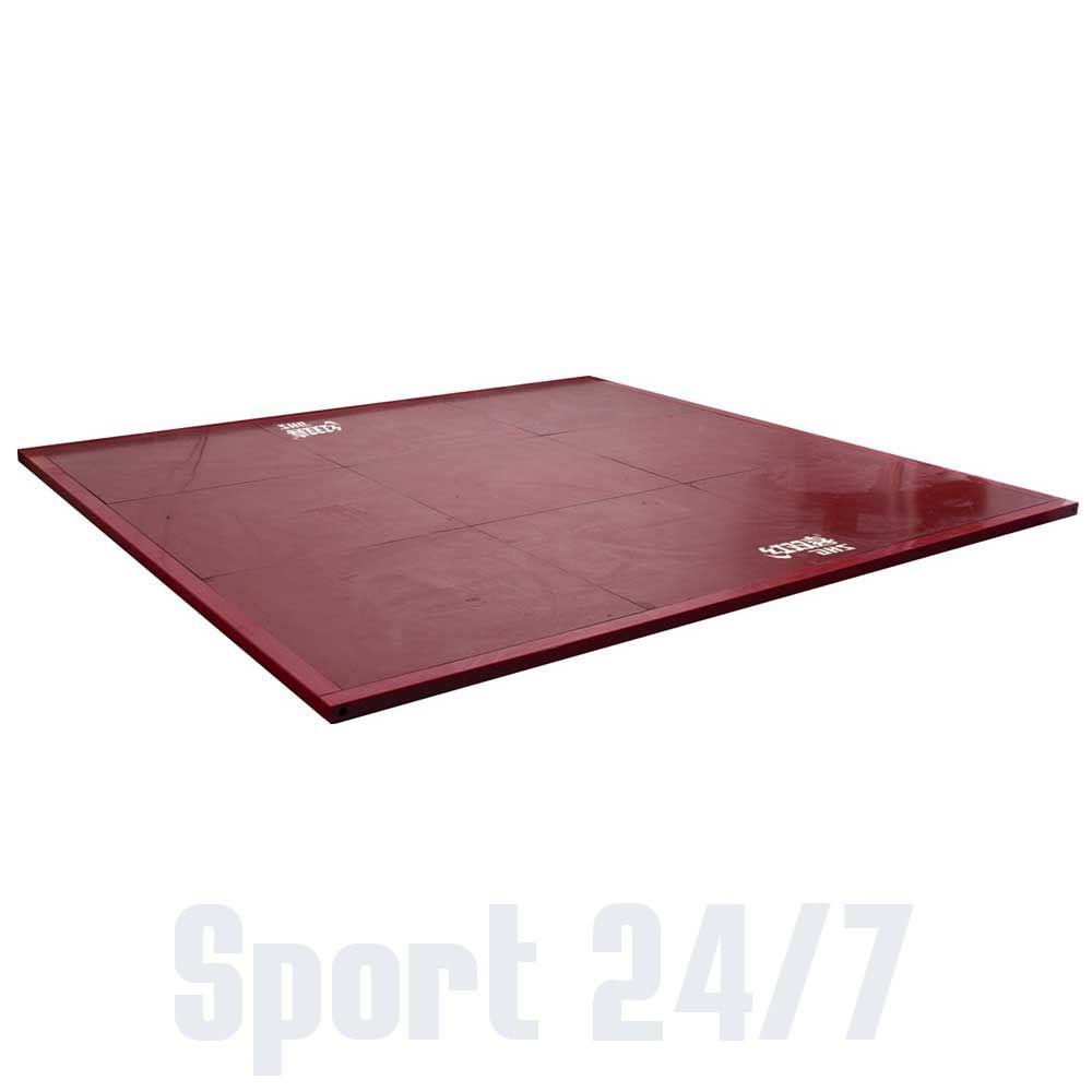 Помост тяжелоатлетический DHS Olympic (В) тренировочно-разминочный (Размером 3м х 3м х 5см.)