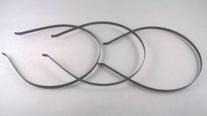 Ободок-основа металл 5 мм, цвет черный (1уп = 12шт)