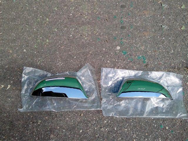 Молдинги хромированные боковых зеркал HYUNDAI Elantra XD J3 '00- 08350-2D000 Hyundai/Kia