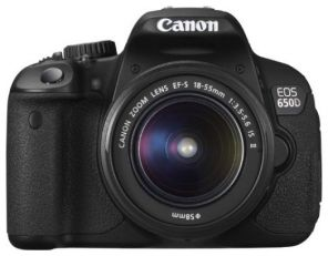 Canon EOS 650D Kit 18-55mm III DC