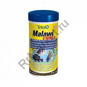 TetraMalawi Flakes корм для растительноядных рыб с водорослями, хлопья