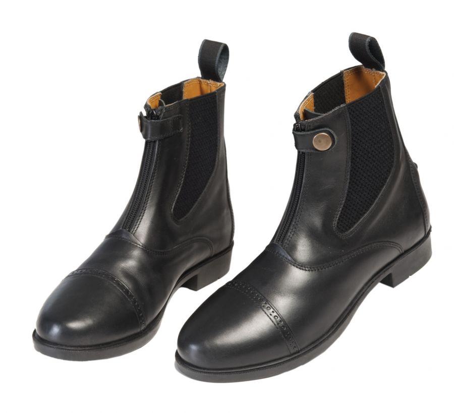 """Ботинки для верховой езды """"EQUI COMFORT"""" с молнией  и застежкой спереди"""