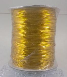 `Шнур, диаметр 1 мм, цвет золото