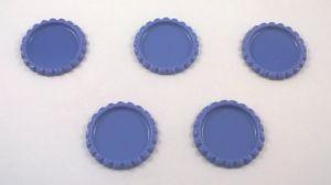 `Крышка, металл, внутренний диаметр 25 мм, наружный 31 мм, цвет №07