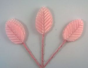 `Листик. 10 см. Цвет светло-розовый, 10 шт