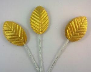`Листик. 10 см. Цвет золото, 10 шт