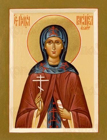 Икона Василиса Египетская (рукописная)
