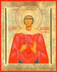 Василиса Коринфская (рукописная икона)