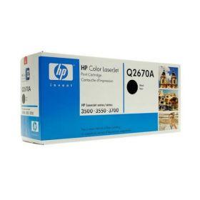 HP Q2670A Картридж Оригинальный , Black LJ3500/3700, Black, (6000стр.)
