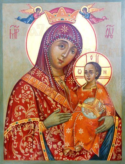 Вифлеемская икона Божией Матери (рукописная)