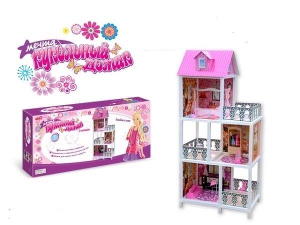 Кукольный домик-Мечта 0481-ZYВВ