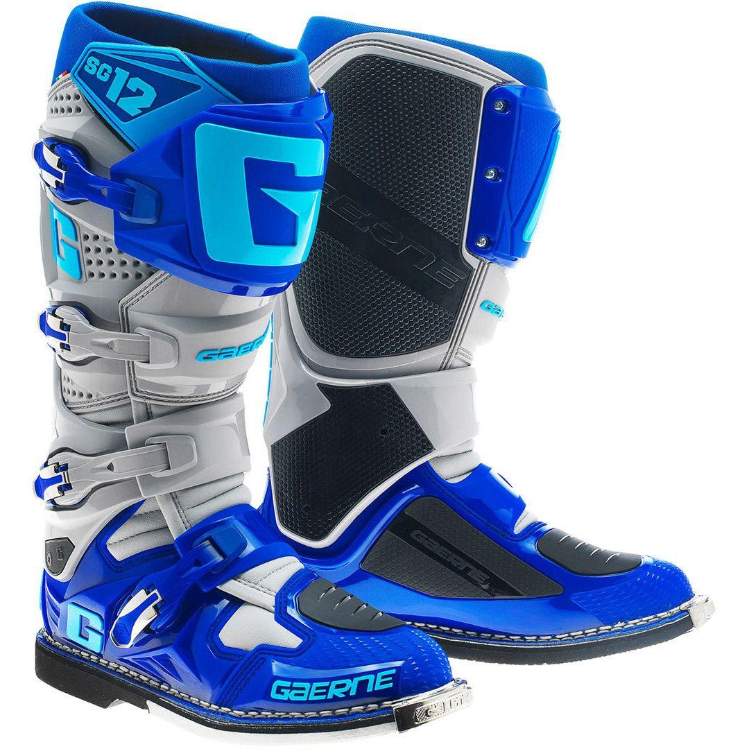Gaerne - SG-12 Blue мотоботы, синие