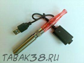 Набор эл. cигарета eGo 650 mAh ТОР с ЗУ красный