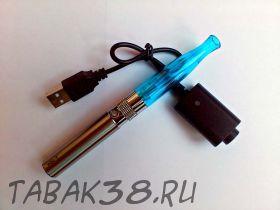 Набор эл. сигарета eGo 650 mAh ТОР c ЗУ синий