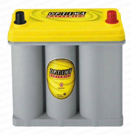Автомобильный аккумулятор АКБ OPTIMA (Оптима) Yellow Top R 2.7 38Ач о.п. ASIA