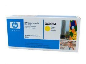 HP Q6002A Картридж оригинальный Yellow (2000стр.)
