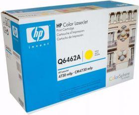 HP Q6462A Картридж оригинальный Yellow (12000 стр.)