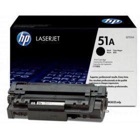 HP Q7551A Картридж оригинальный Black (6500 стр.)