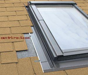 Изоляционный оклад для распашного окна ESW для плоских кровельных материалов