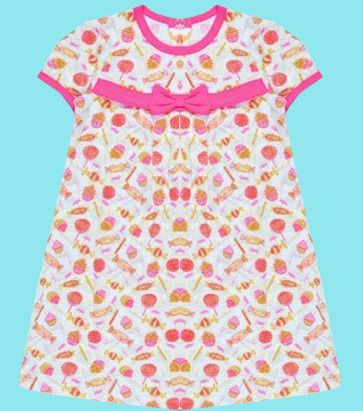 Трикотажное платье для девочки Сладкий рай