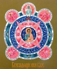 Всевидящее Око (рукописная икона)