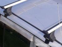 Багажник на крышу Chevrolet Aveo (T300) (4-dr sed.. 5-dr hatch.), Атлант, крыловидные дуги