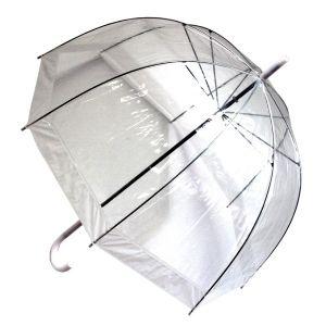 Зонт прозрачный (купол белый)