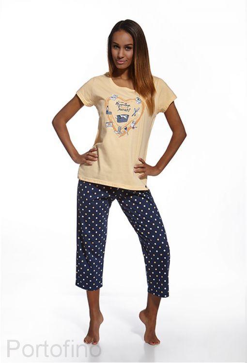 666-64 женская пижама 3 предмета Cornette