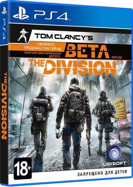 Игра Tom Clancy's The Division. Стандартное издание  [PS4, русская версия]