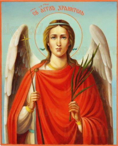 Ангел Хранитель (рукописная икона)
