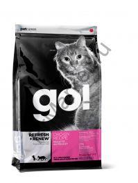 GO! NATURAL корм для котят и кошек с цельной курицей, фруктами и овощами