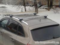 Багажник на крышу Audi Q7, Атлант, аэродинамические дуги