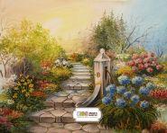 "Фон стена ""Garden art"""