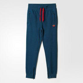 Детские спортивные штаны adidas Junior Pant's Fleece синие
