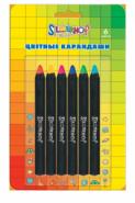 Цветные карандаши Jumbo от Silwerhof,  134082-06  (11940)