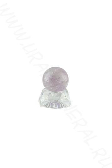 Шар (25 мм) - Аметистовидный кварц