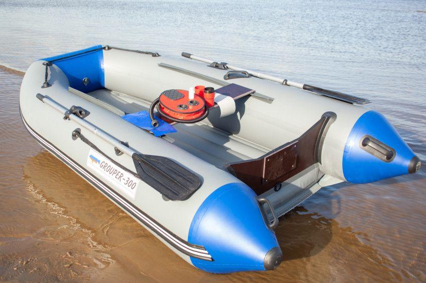 Лодка «Групер» 300