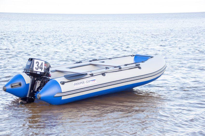 Лодка «Групер» 320