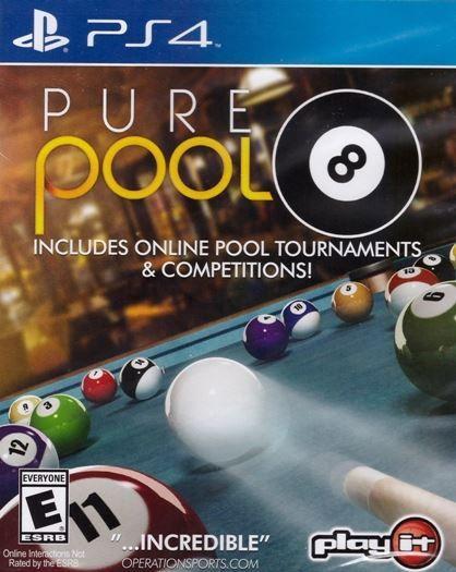 Игра Pure Pool (PS4) Бильярд
