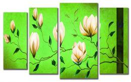 зелень весны