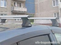 Багажник на крышу Lada Granta sedan / liftback, Атлант, крыловидные дуги, опора Е
