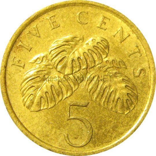 Сингапур 5 центов 1995 г.