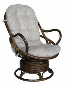 Вращающееся кресло качалка