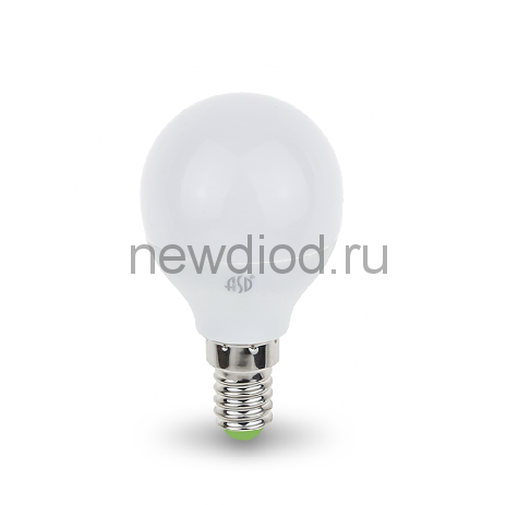 Лампа СД LED-ШАР-STD 3.5ВТ Е14 4000К 320ЛМ ASD