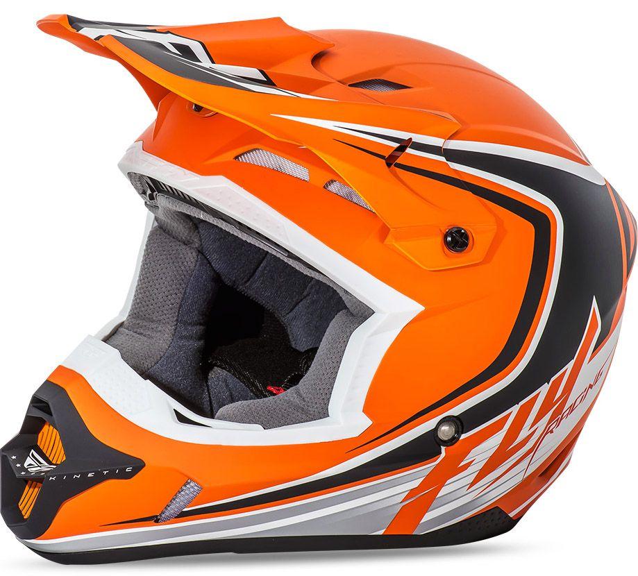 Fly - Kinetic Fullspeed шлем, матовый оранжево-черный