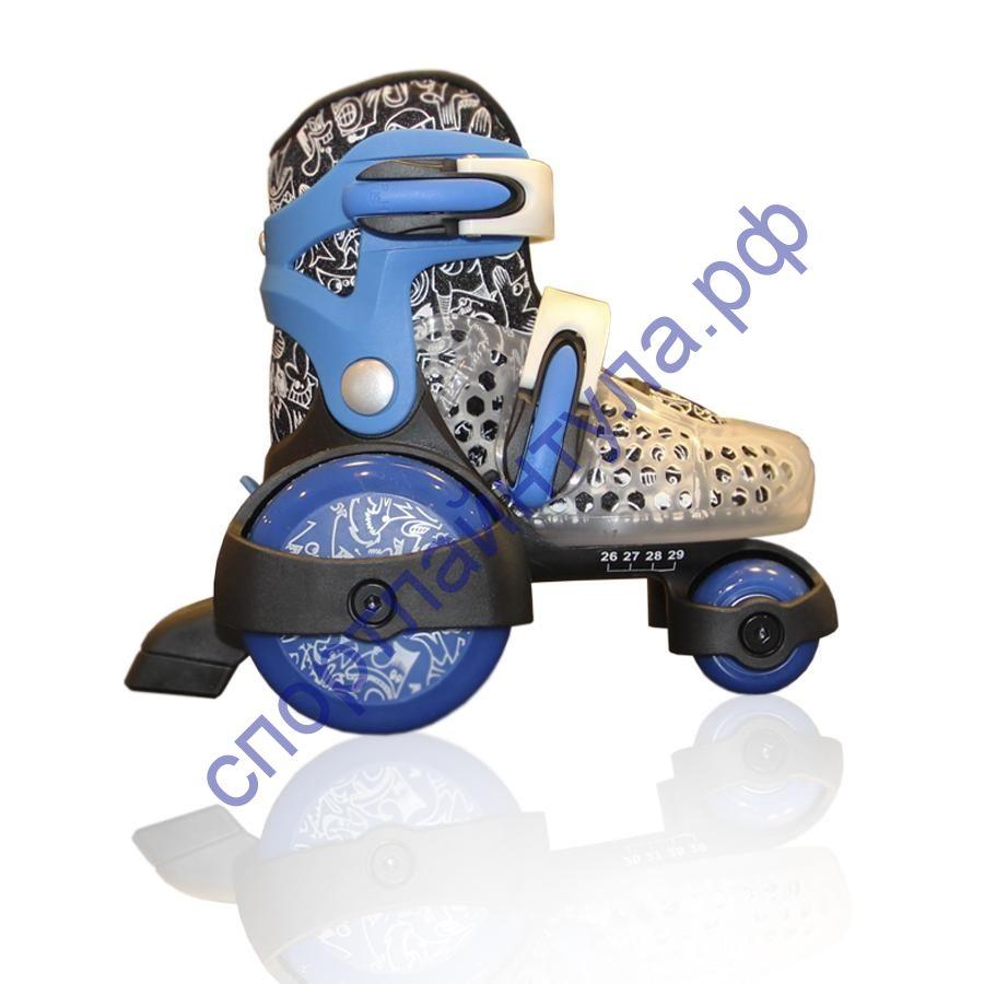 Роликовые коньки KINDER QUAD Blue